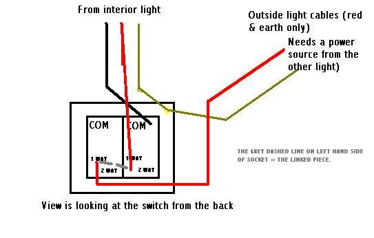wiring_helpppp wiring diagram for dual light switch readingrat net double light switch wiring diagram at crackthecode.co