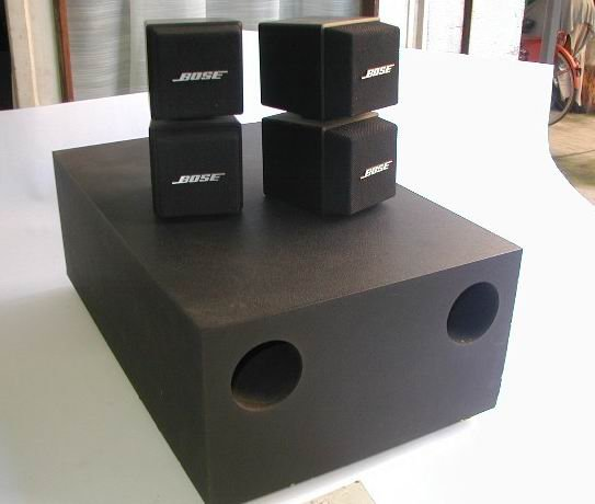 Bose Acoustimass Cube Speakers And Subwoofer Corsa Sport