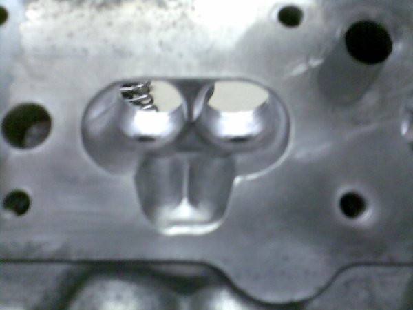 Ported and polished cylinder heads