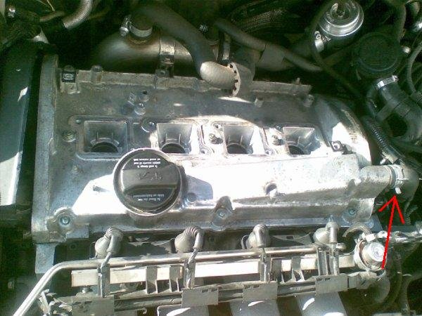 Breather on Rocker Cover Gasket